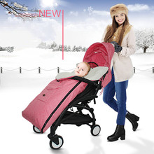 Baby sleeping bag winter Thick Warm Newborns bags kids Sleepsack for stroller toddler Black Pink Envelope
