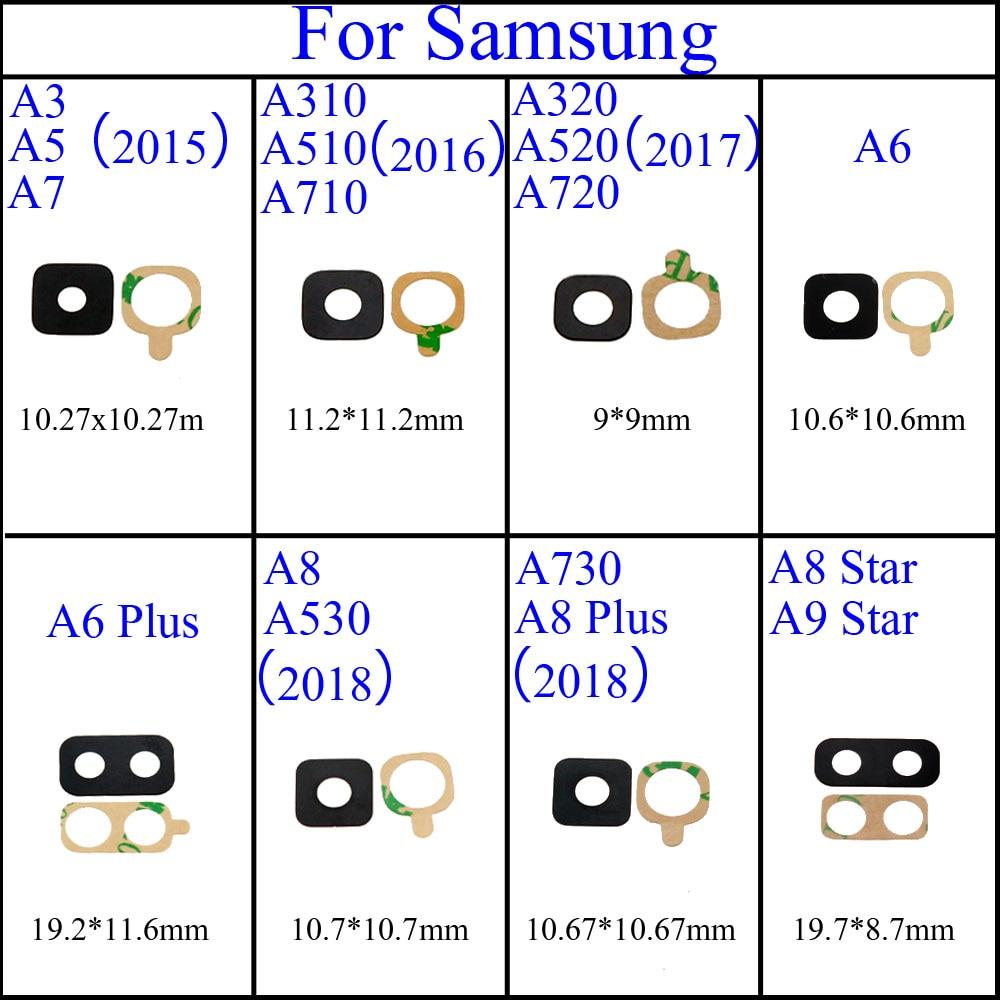 Neue Gehäuse Hinten Zurück Kamera Glas Objektiv Abdeckung Fall Für Samsung Galaxy A310 A510 A710 A320 A720 A6 A8 (a3 A5 A7 2016 Version)