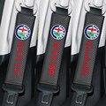2 шт. Накладка для ремня безопасности автомобиля из углеродного волокна для Alfa Romeo 159 147 156 giulietta 147 159 mito аксессуары для стайлинга автомобилей