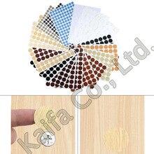 Ornament Sticker Screw-Cap Decorative-Cover Wood 54PCS PVC 21MM Craft Self-Adhesive Beauty