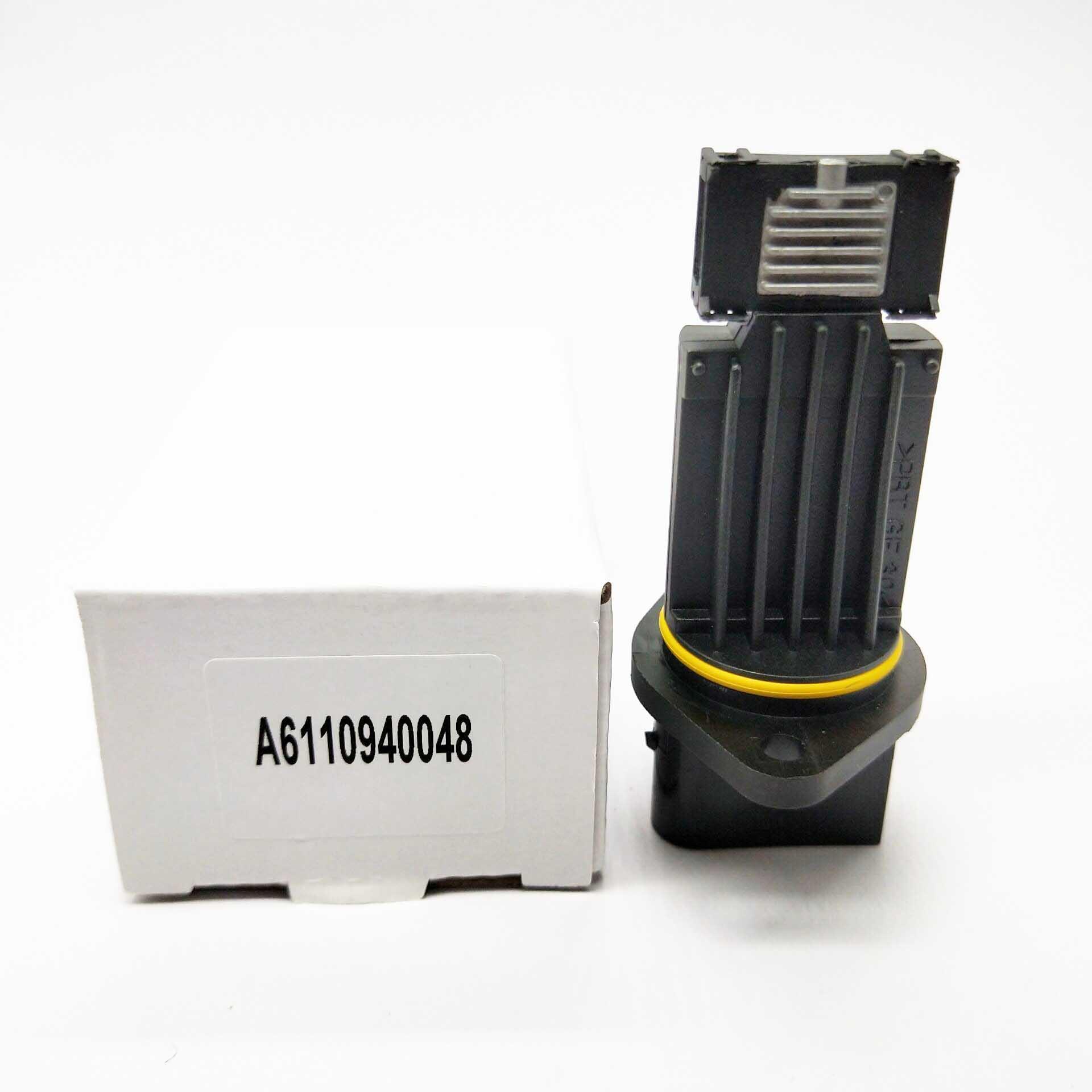 Mass Air Flow Meter MAF Sensor For Mercedes Benz E CLASS E200 E220 E270 E320 CDI W210 S210 S203 A6110940048 72268400 6110940048|Air Flow Meter| |  - title=