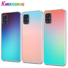 Gradient Color for Samsung Galaxy Note 10 Lite S20Ultra S20 Plus A01 A11 A21 A51 A71 A81 A91 Phone Case(China)