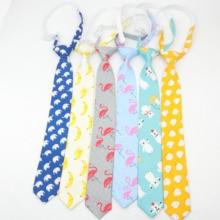 Хлопковый детский Красочный галстук, 5 см, ширина, утка, собака, фрукты, Цветочные Галстуки, Детский галстук для мальчиков, тонкий обтягивающий галстук-стрела, толстые Галстуки