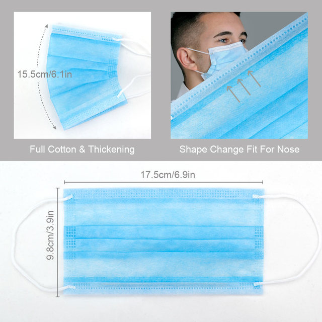 Fast Delivery Hot Sale 1PCS/Lot Pm2.5 Mouth Mask Antidusk Haze Mouth-Muffle Bacteria Proof Flu Face Masks Health Care 4
