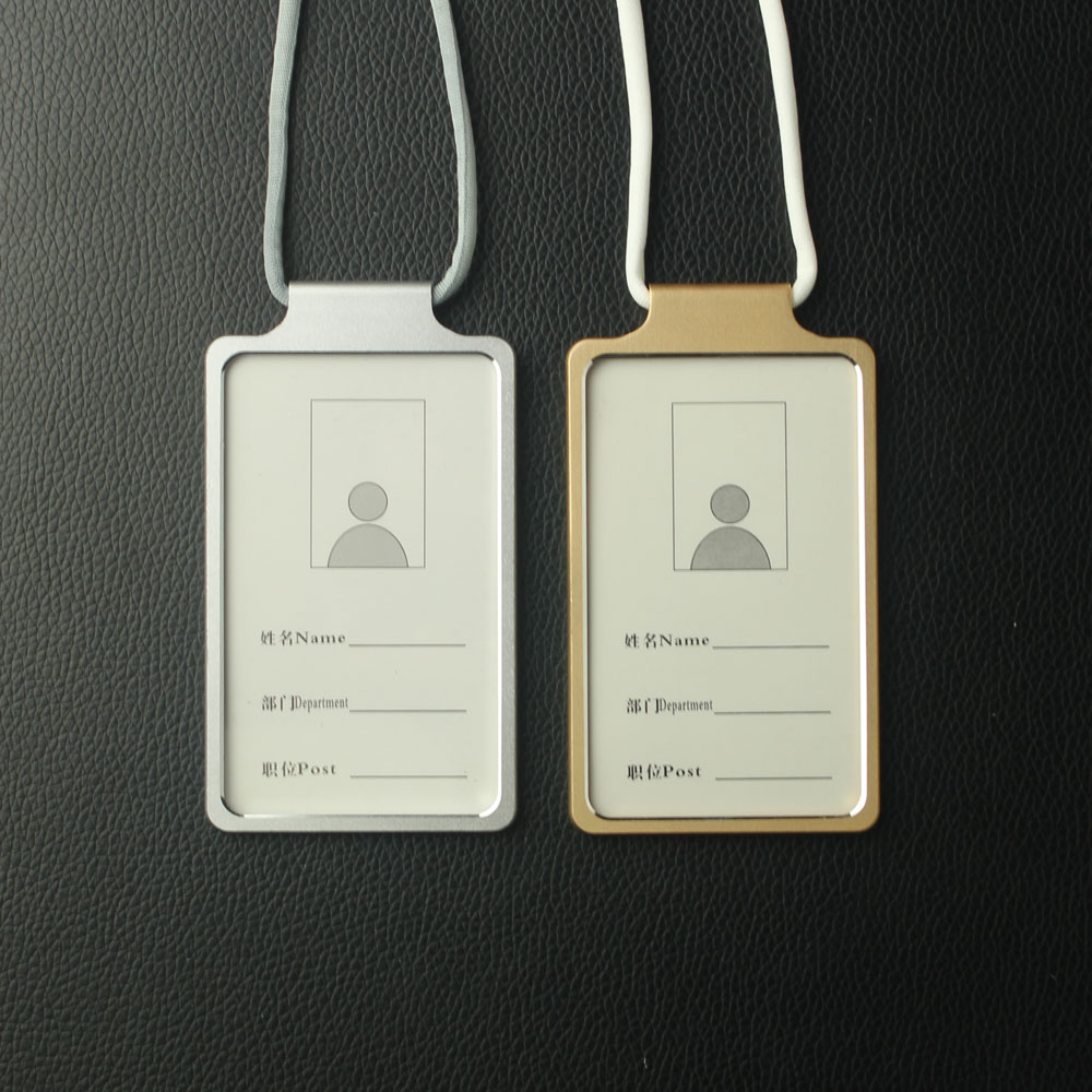 Apple Worker IC ID Card Holder With Neck Strap In  Special  Shape