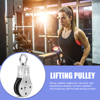 Stainless Steel Fitness Pulley Mute Gym Equipment Bearing Heavy Lifting Workout for Effective Working-out Accessories