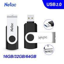 Netac-unidad Flash USB resistente al agua para teléfono inteligente, 64GB, 32GB, 16GB, Memoria usb de almacenamiento