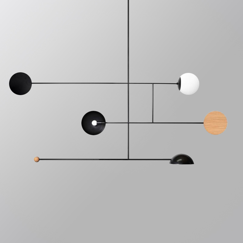 Nordic Minimalist LED Pendant Lamp Living Room Bedroom Restaurant Chandelier Art Home Deco Modern Hanglamp Lighting Fixtures