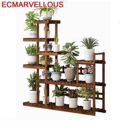 Dalam Ruangan Pot Plantenstandaard Rak Kayu untuk Etagere Tuangkan Plante Stojak Na Kwiaty Dekoration Rak Outdoor Bunga Tanaman Dudukan