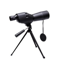 20-60x60 Spotting Scope Waterproof Monocular Telescope Zoom Camping Hunting Birdwatch Optics Compact Magnifier with Tripod стоимость