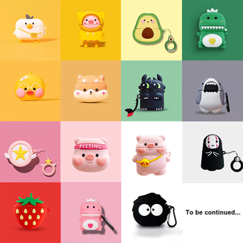 For Airpods Pro Case 3D Cartoon Cute Soft Silicone Earphone Cases For Apple Air Pods Pro 1 / 2 / 3 Wireless Headphone Cover Bags 1