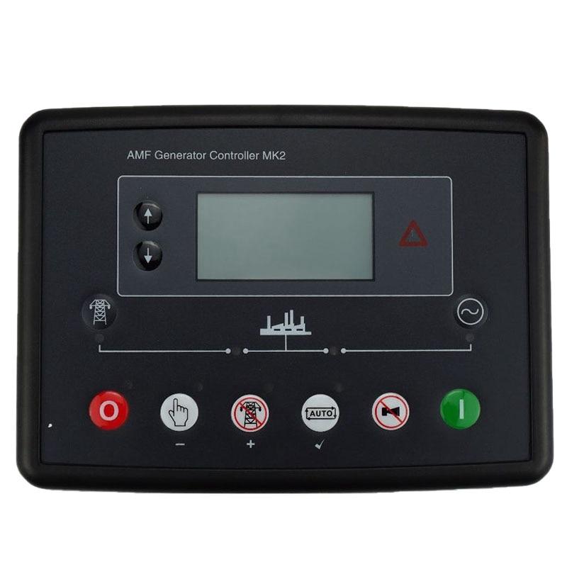 Aletler'ten Elektrikli Alet Aksesuarları'de DSE6020MKII jeneratör kendinden başlangıç kontrolörü jeneratör seti paneli elektronik kontrol aracı jeneratör kontrolörü title=