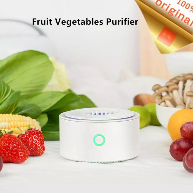 Stock Youpin YouBan Fruit Vegetables Purifier For Sterilize Disinfection Remove Pesticide Kitchen Vegetables Food Sterilizer