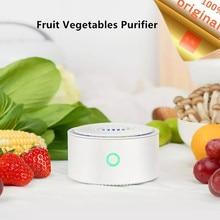 جهاز تنقية الفواكه والخضروات من Youpin YouBan لتعقيم التطهير وإزالة المبيدات الحشرية للمطبخ والخضراوات معقم الطعام