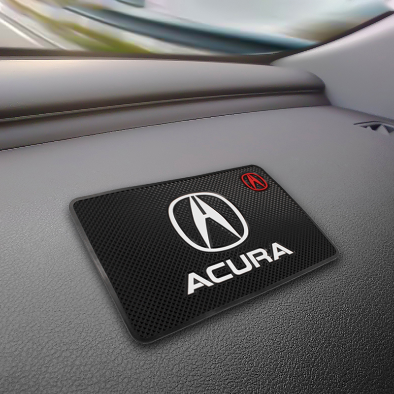 Car Mat Auto Interior Dashboard Phone Coin Gel Pads Fixed Gel Double Sided Car Non-slip Mat For Acura Tsx Mdx Tl Rdx Integra Tlx