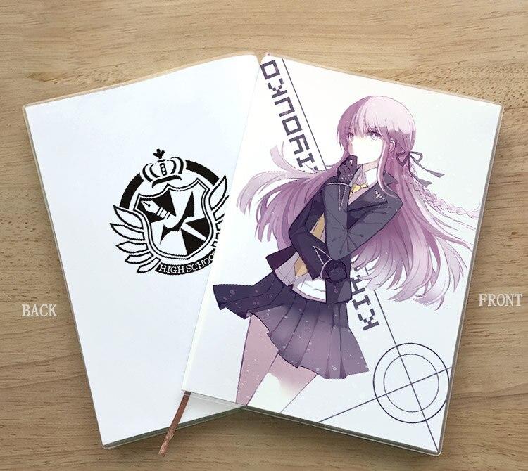 Anime Danganronpa V3 Enoshima Junko Naegi Makoto Kirigiri Kyouko Student Notebook Eye Protection Diary Notepad Memorandum Gift