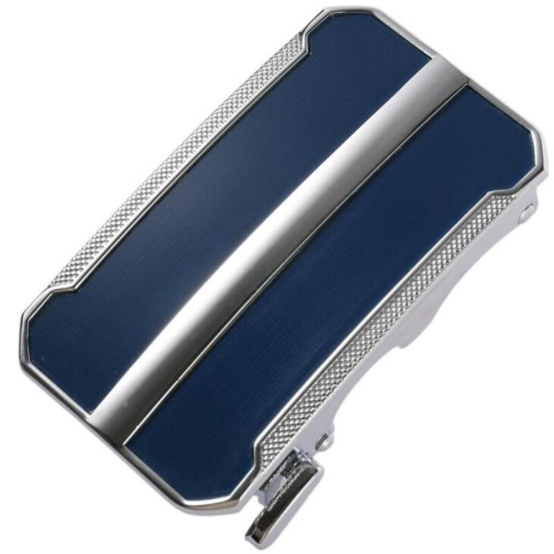 New Men's Business Alloy Automatic Buckle Unique Men Plaque Belt Buckles For 3.5cm Ratchet Men Apparel Accessories Designer Belt