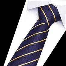 New Fashion Necktie Jacquard Woven Slim Tie 6cm Width Men Ties  Business Wedding Stripe Neck Tie For Men Accessory Tie12505 fashionable star and stripe pattern patchwork 5cm width tie for men