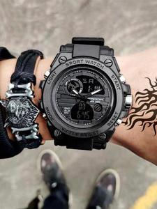 SANDA Watches Luxury Top-Brand Waterproof Relogio New Quartz Sport Shock-Clock Masculino