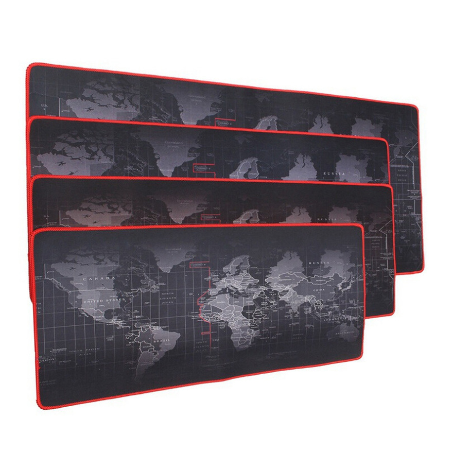 Image 2 - Customized Large Gaming Mouse Pad Gamer World Map Mousepad Anti slip Natural Rubber Desk Pad Mouse Mat Gaming for CSGO Dota  LOL-in Mouse Pads from Computer & Office
