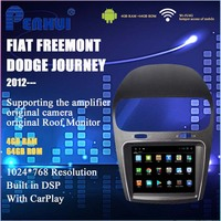 8.4 inch 8 Core Android 4GB+64GB Car DVD GPS Player for Fiat Freemont/Dodge Journey (2012 ) With DSP/CarPlay/4G/Mirrorlink