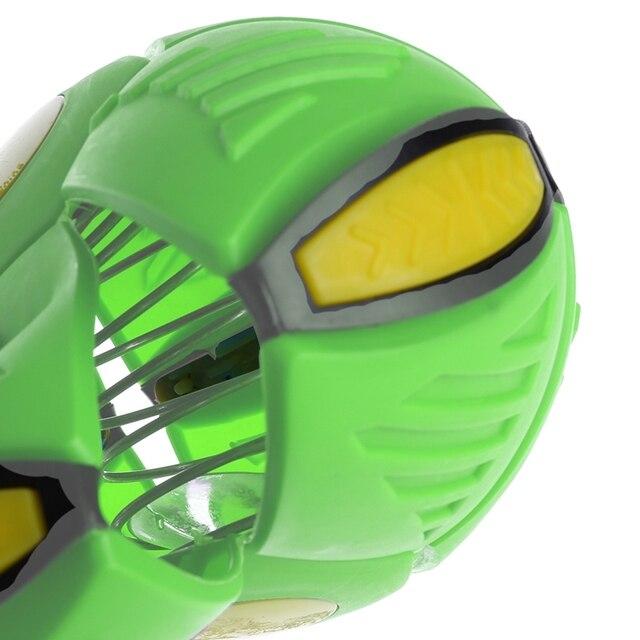 Купить летающий нло плоский бросать диск мяч с светодиодный светильник картинки