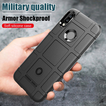 Y6 2019 case For huawe Anti-shock Shockproof Armor Rubber Bumper Back Phone Cover Fundas