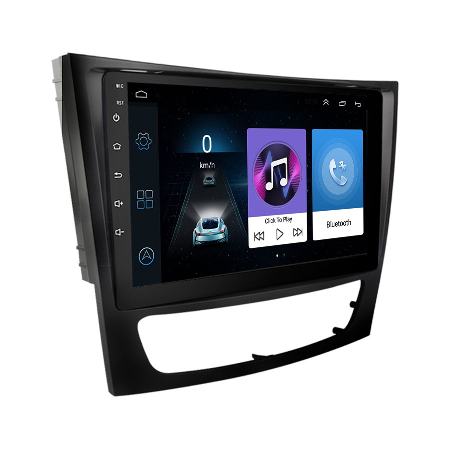 Автомобильное стерео радио GPS WIFI Mirror Link 9 ''HD Android 10,1 плеер RAM1GB ROM16GB для Mercedes Benz W211 W219 с Canbus