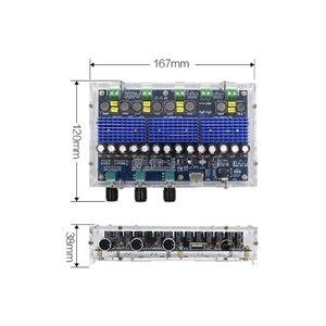 Image 3 - Bluetooth 5.0 TPA3116D2 4 kanałowy 50Wx2 + 100Wx2 karta do cyfrowego wzmacniacza mocy Stereo Dual Bass Subwoofer wzmacniacz kina domowego XH A310