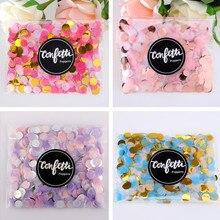 1 paquet de 10g 1 cm or coloré confettis licorne confettis rempli ballon de mariage bébé douche fête danniversaire décorations fournitures