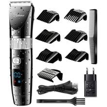 cordless professional hair clipper electric hair trimmer beard trimer for men electric haircutting one battery haircut machine