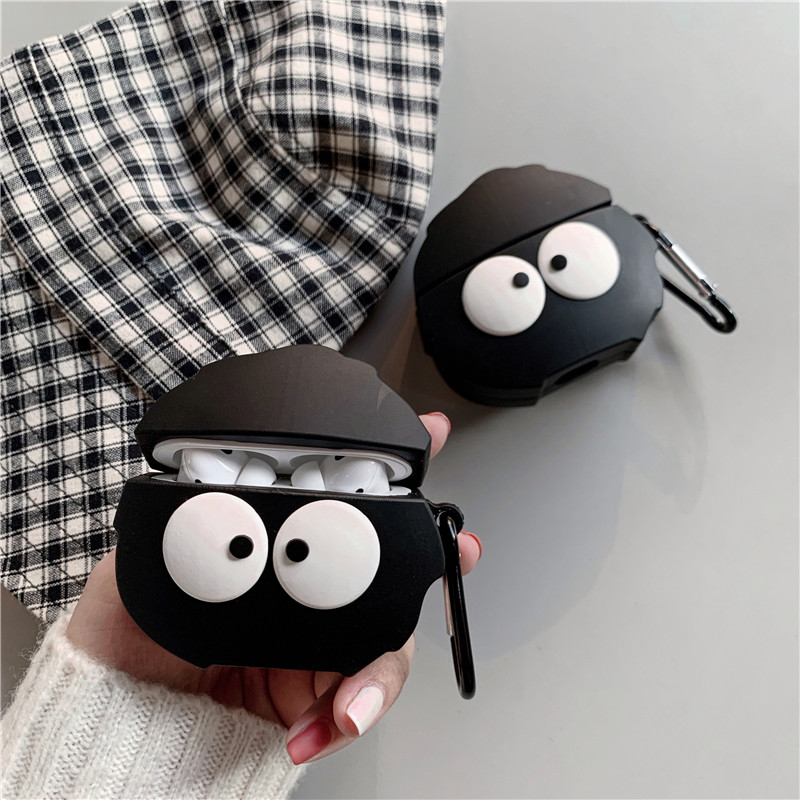 Cute Briquettes Case For Apple Airpods Pro Cover Funny Earphone Protective Cases Charging Box Silicone Capa For Air pods Pro 3