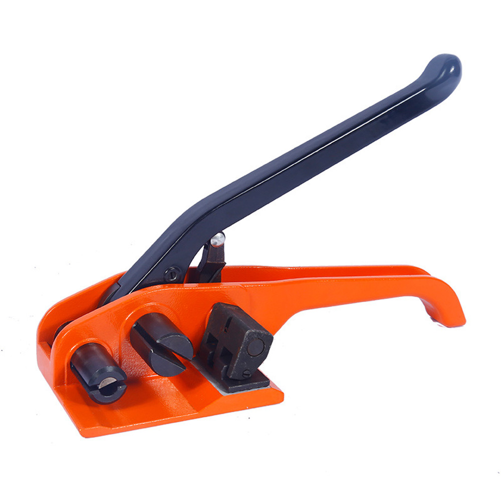 for 16 to 32mm Fiber belt manual baler Tightener Semi-automatic baler for polyester fiber flexible belt