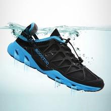 Unisex Hiking Shoes Air Mesh Breathable Light  Outdoor Climbing Women Sneakers Beach Water Aqua Zapatillas De Agua