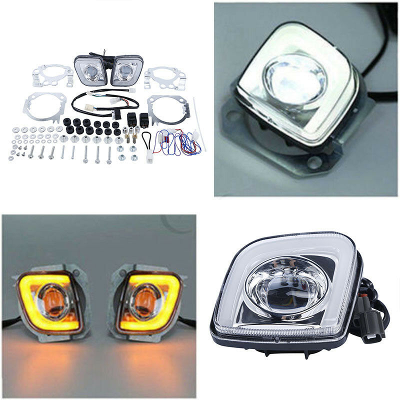 Motorcycle LED Turn Signal Driving Fog Light For Honda Goldwing GL1800 2001-2017 2012-2017 F6B 2013-2017 Valkyrie 1800 2014-2015