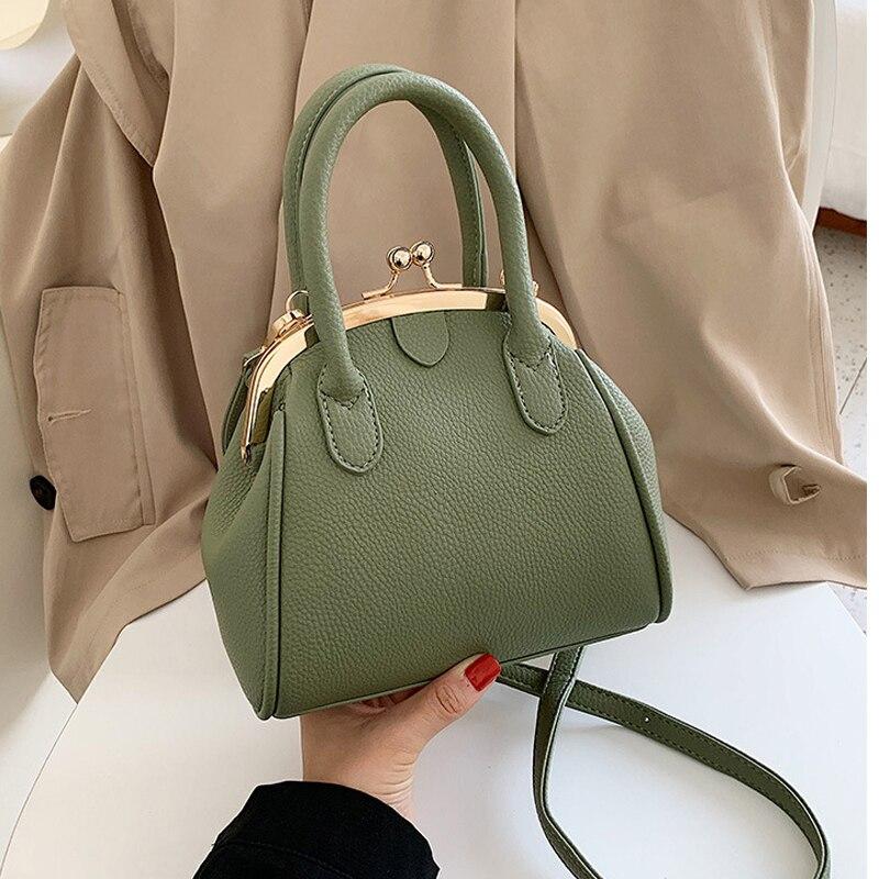 Fashion Hasp Crossbody Bags For Women 2020 Luxury Handbags Women Bags Designer Purses Female Totes Shoulder Messenger Bags