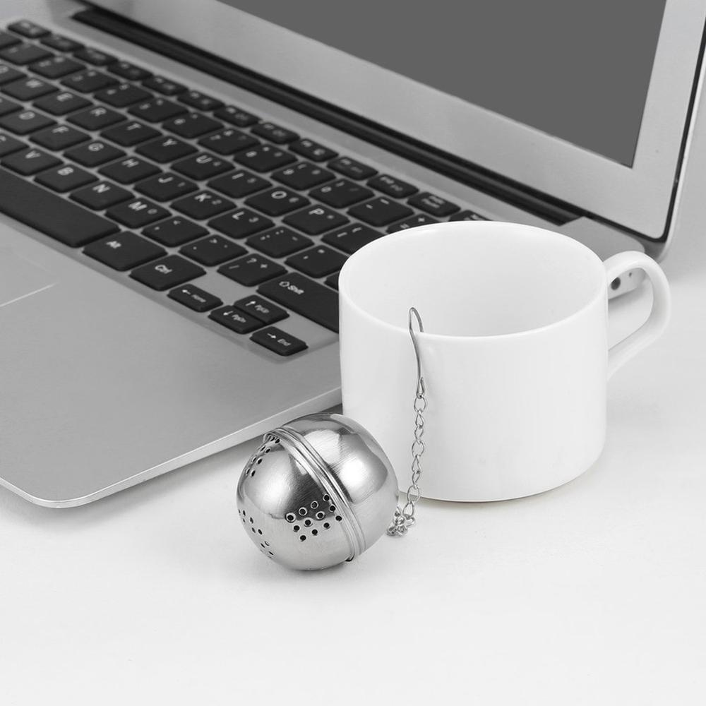 2019 NEW Spice Egg Shaped Silver Stainless Steel Seasoning Ball Teakettles Strainer Tea Filter Locking FreeShipping Brand New