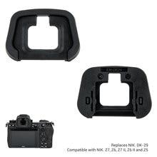 JJC-visor ocular suave para Nikon Z7, Z6, Z5, Z6II, Z7II, cámara, ocular, reemplazo de DK-29, ABS giratorio de 360 grados