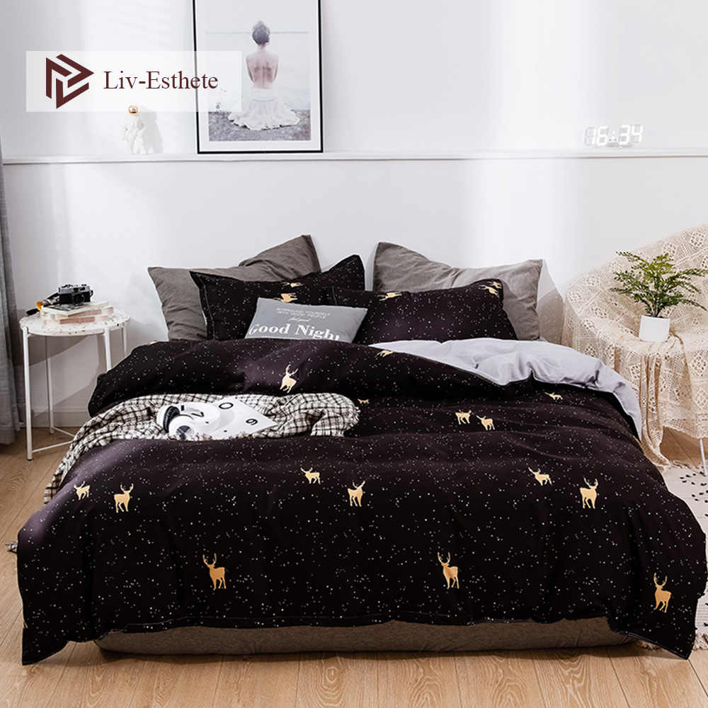 Liv Esthete коричневый медведь мультфильм постельные принадлежности набор