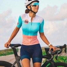 Conjunto de Ciclismo de Tres Pinas 2020 de Europa y América jersey de ciclismo para mujer, traje deportivo de secado rápido y transpirable para exteriores