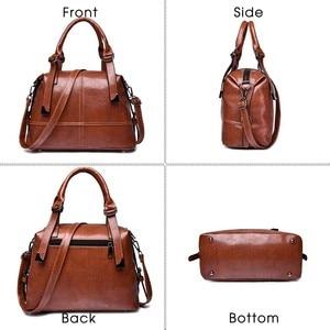 Image 4 - Herald Fashion Woman Bags Crossbody Bags For Women Retro Vintage Ladies Leather Handbags Women Shoulder Bag Female Zipper Sac