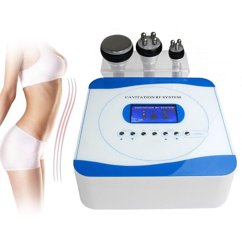 3w1 kawitacja ultradźwiękowy odchudzanie urządzenie kosmetyczne wielobiegunowa częstotliwość radiowa rf podnoszenie skóry dokręcić przeciwzmarszczkowe odmłodzenie