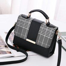 Женская модная сумка через плечо из искусственной кожи с маленьким клапаном, сумки через плечо, сумки-мессенджеры с верхней ручкой
