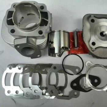 Cylinder kit 47.6mm 10P 12P for JOG50 big bore 3KJ ZR50 racing cylinder set tuning engine parts increase speed jog zr 50