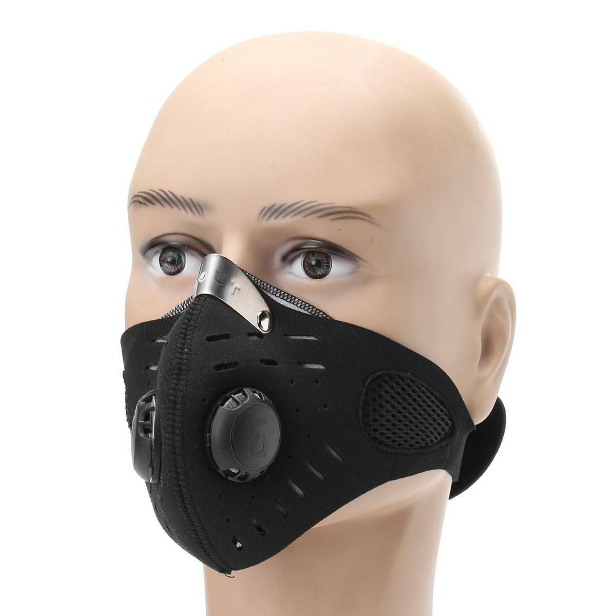 Image 2 - Activated Carbon Masks Dustproof Face Mask Black Men Women Muffle Outdoor Cycling Mouch MasksWomens Masks