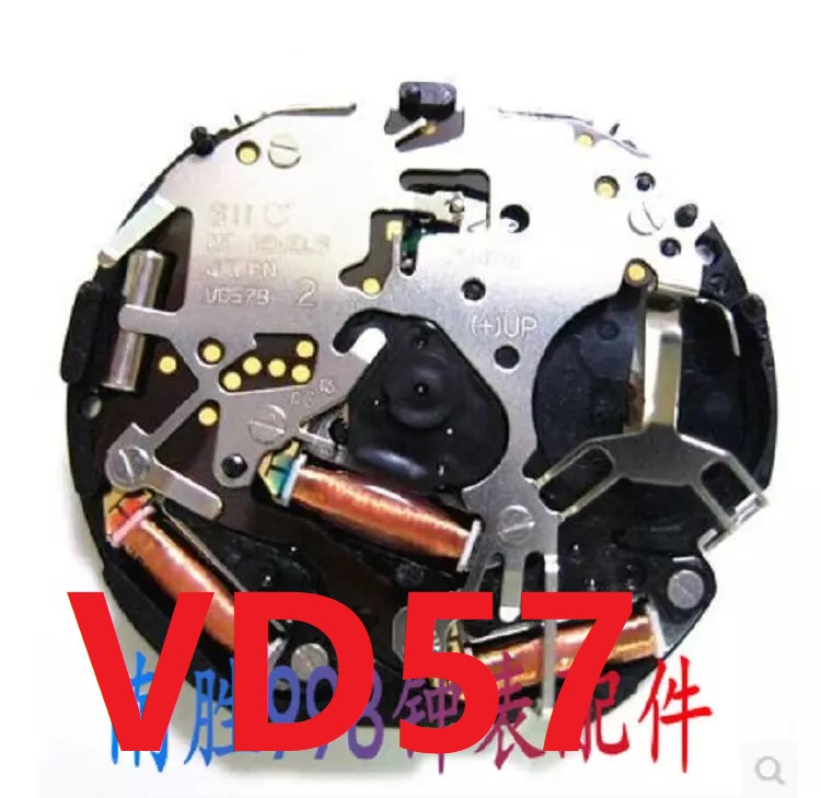 Watch Accessories Watch Movement Japanese Original VD57C Movement Quartz VD57 Multifunction Movement