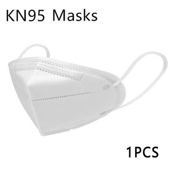 1/2/5PCS kn95 Dust mask Anti Pollution PM2.5 mouth mask washable reusable masks Non-woven unisex mouth mask for Travel, flu