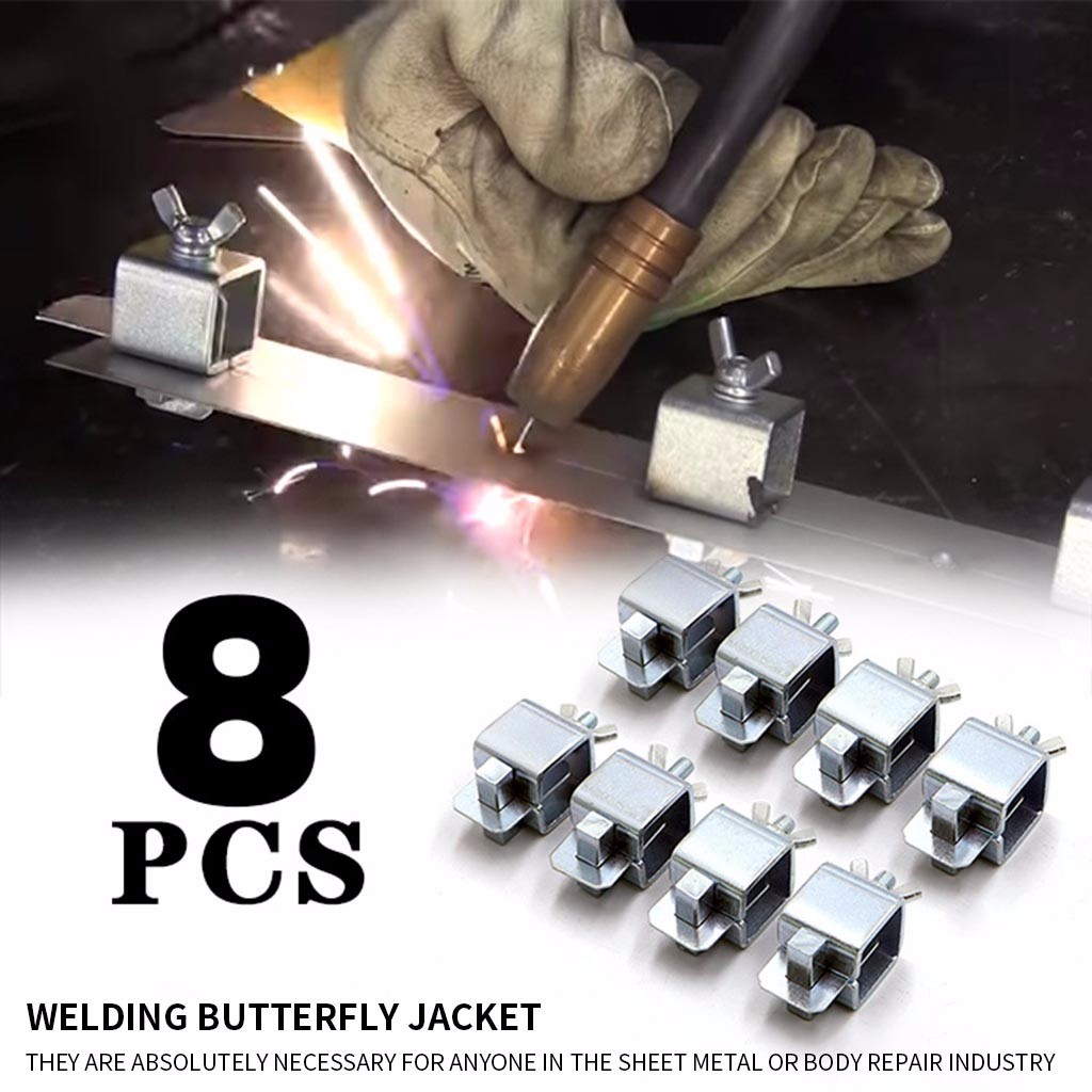 8Pcs Butt Welding Clamps Weld Sheet Metal Auto Car Door Skin Body Panel Fender 2020 Hot New Products Spot Supplier Dropshipping