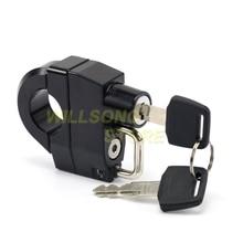 Universal Helmet Lock Anti-theft Security 25mm Handlebar Clamp For KAWASAKI VN 800/900/1500/1600/1700/2000 Vulcan Classic Parts