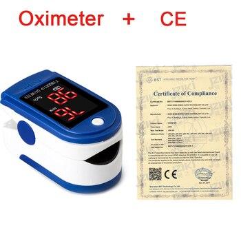 цена на Medical Household Digital Fingertip pulse Oximeter Blood Oxygen Saturation Meter Finger SPO2 PR Monitor health Care CE